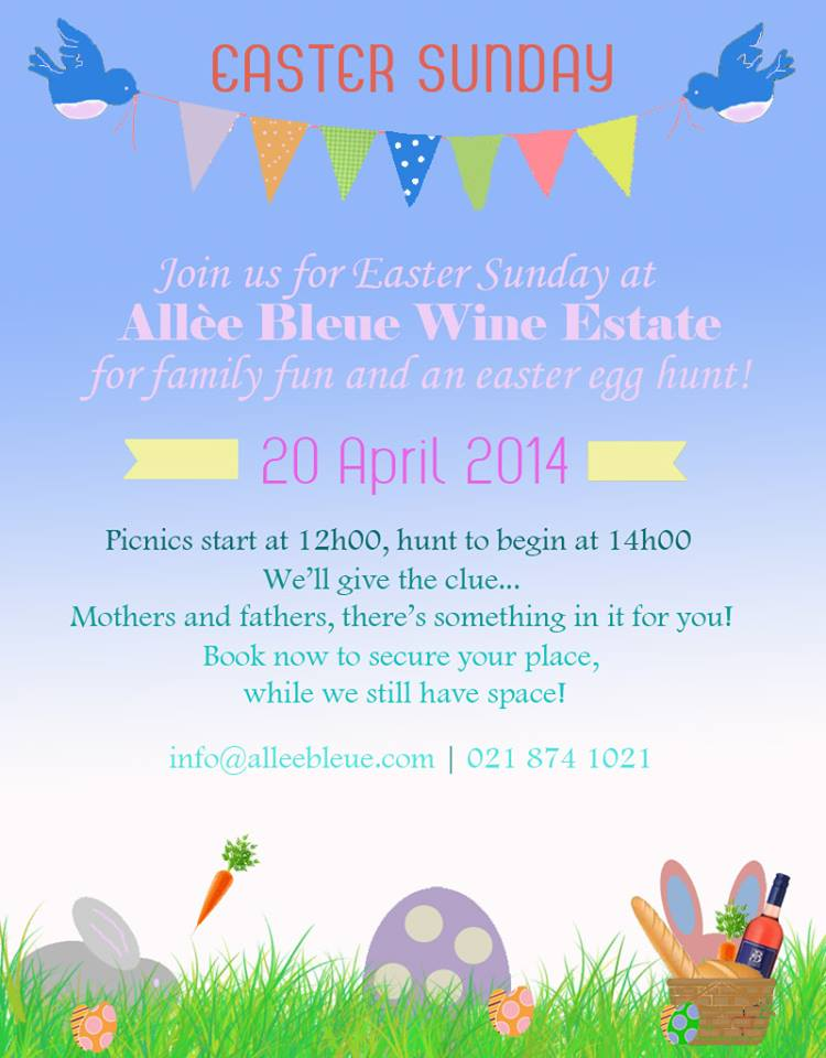 easter at Allee Bleue