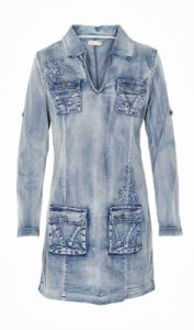 3 denim dress