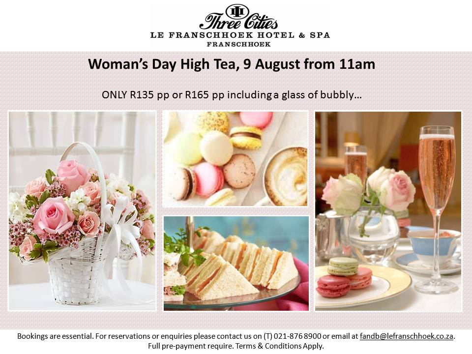 Woman's day High tea