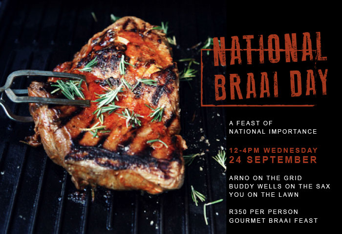 braai day at Maison estate