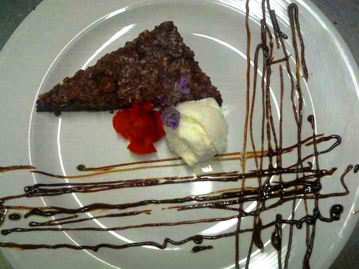 chocolate brownie by kalfis