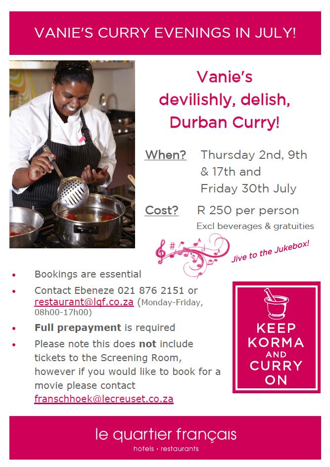 vani curry