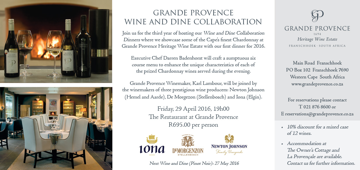 GP Wine & Dine April